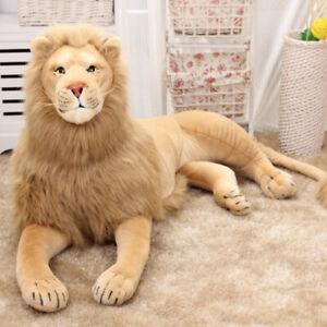 30-120CM Giant big lion plush soft toys lying doll stuffed animals gift home