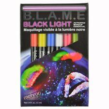 B.L.A.M.E. Black light activated  UV Makeup Pens