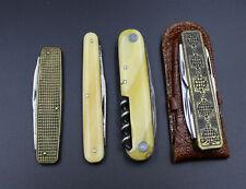 4 alte Taschenmesser, interessant