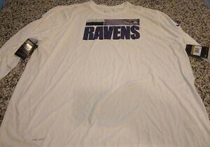 4xl Baltimore Ravens Longsleeve Nike Drifit Tshirt