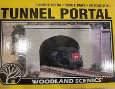 Ho Scale Woodland Scenics One Concrete Double Portal 1256 Nip *