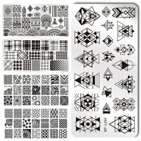 BORN PRETTY Nail Stamping Image Plate  Nail Art Stamp Stencil Template