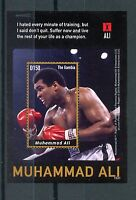 Gambia Sports Stamps 2015 MNH Muhammad Ali Boxing 1v S/S