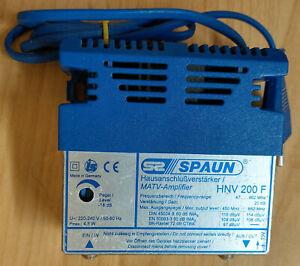 Hausanschlußverstärker Spaun HNV 200 F