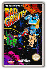 THE ADVENTURES OF RAD GRAVITY NINTENDO NES FRIDGE MAGNET IMAN NEVERA