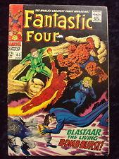 FANTASTIC FOUR #63 SANDMAN APP SILVER AGE  MARVEL COMICS