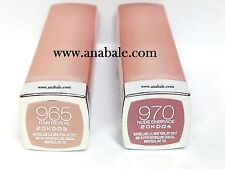 (2-Pack) Maybelline ColorSensational Lipstick, Raw Reveal 965, Nude Embrace 970
