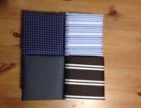 EX DISPLAY Men's Tie, Cufflinks, Hanky Set with Gift Box | Stripes, Dots