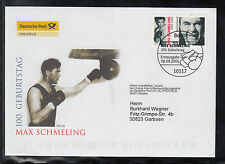 G-001) Germany 2005 FDC  - 100th Birthday of Max Schmeling