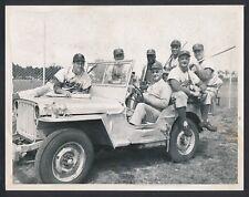 1948 JACKIE ROBINSON & ROY CAMPANELLA, Dodgers Heavy Artillery Baseball Photo