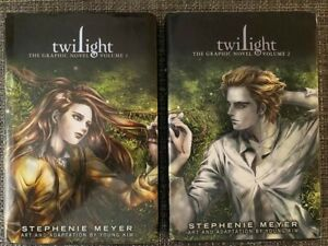 Twilight the Graphic Novel - Volume 1 and Volume 2 (First Edition Hardcover)