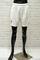 Bermuda NIKE Uomo Taglia M Pantaloncino Shorts Pantalone Pants Man Sport Bianco
