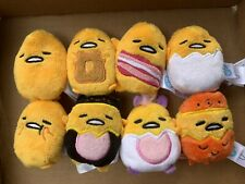 Cutie Beans Plush Bean Bag Gudetama Lazy Egg Keychain
