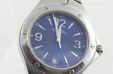 Ebel sportwave Reloj Para Hombre Acero / 40mm SUPERIOR NUEVOS VER 9955k41 Azul