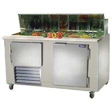 Leader Lm60, 60x32x45-Inch Refrigerated Sandwich Unit, 20.3 Cu. Ft, 1 1/2 Door,