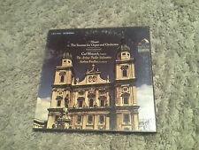 FIEDLER WEINRICH mozart sonatas for organ & orchestra 2 LP Mint- LSC-7041 WD 1s