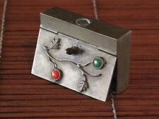 Brass Original Antique Asian Boxes