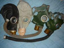 ☭Set 2 pcs.original USSR Gas mask GP-4+GP-5 Or two masks GP-5