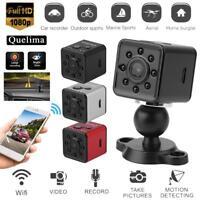 Quelima SQ13 1080P FHD Night Vision WiFi Car DVR Camera Dash Cam Mini Sports DV