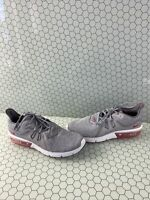 Nike Air Max Sequent 3 Gray Lace Up Low Top Casual Shoes Men's Size 11.5