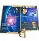 Lot of 2 Vintage Star Trek Generations Boldly Go Calendar Movie Posters