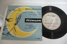 BEETHOVEN SONATE CLAIR DE LUNE 45T MARIE-MADELEINE PETIT PIANO. TRIANON FRENCH
