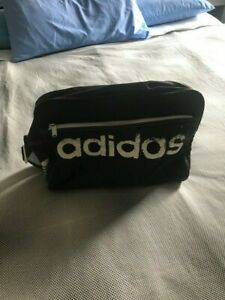 Vintage 90's ADIDAS shoulder bag Bag  BLACK  used