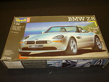 Revell un made plastic kit of a BMW Z8, boxed opened, seal broken.