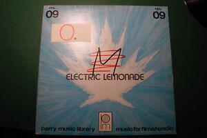 Electric Lemonade Parry Music Featuring Synthesizer LP Vinyl 1977