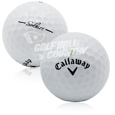 72 Callaway Solaire White AAA (3A) Used Golf Balls - FREE Shipping