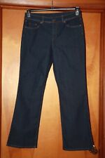 Basic Editions Ladies size 12 Boot Cut Stretch Denim Jeans EUC  stock#3338