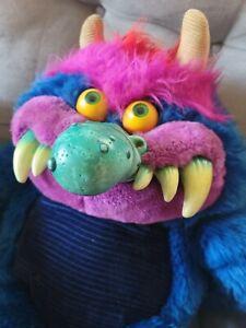 "~ Vintage 1986 My Pet Monster Stuffed Animal Plush AmToy 24"" ~"