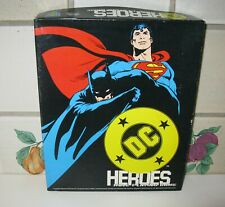DC HEROES Role-Playing Game (RPG) By Mayfair Games (1989, 2nd edition) COMPLETE