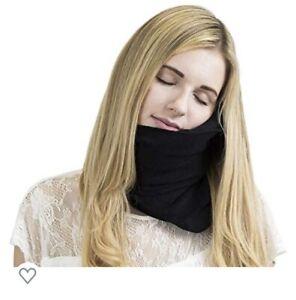 Genuine Trtl Travel Pillow - Super Soft Neck Support. Machine Wash Black USA