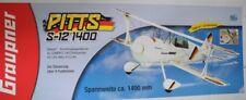 Graupner Pitts s-12 1400 depron kunstflugdoppeldecker Kit