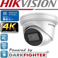 HIKVISION 8MP DARK FIGHTER IP POE CCTV DOME TURRET CAMERA 4K HD DS-2CD2385G1-I