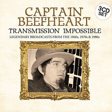 CAPTAIN BEEFHEART New Sealed 2018 LIVE 1960s to 80s CONCERT 3 CD BOXSET