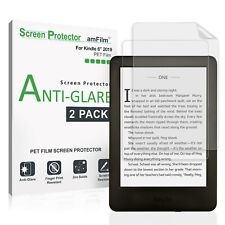 amFilm Matte Screen Protector Film for Amazon Kindle 2019 / Paperwhite (2 Pack)