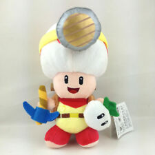 """Super Mario Series Standing Captain Toad Little Buddy Stuffed Soft Plush Toy 8"""""""