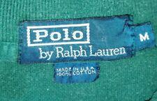 POLO RALPH LAUREN - maglietta t-shirt - verde bottiglia - M - originale
