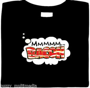 Bacon Shirt, ..mmm Bacon, funny shirts, t shirt slogans, Meat Gifts, humor tees