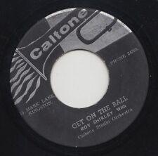 '67 CALTONE ROCKSTEADY 45 ROY SHIRLEY GET ON THE BALL/DO ME GOOD ♫