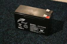 Marques-échosondeur Batterie zenith 12 V 7,2ah zyklenfest pour fonctionnement continu!
