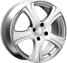 """17"""" ITALIAN CLASSIC KARISMA ALLOY WHEELS AND TYRES SILVER BRAND NEW"""