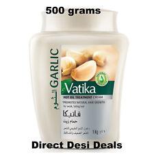 Dabur Vatika 500g GARLIC Hair Mask Oil Treatment Cream PROMOTE HAIR GROWTH USA
