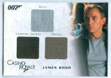 "DANIEL CRAIG ""JAMES BOND TRIPLE COSTUME CARD #TC06"" JAMES BOND IN MOTION"