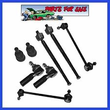 8pcs Front Repair Kit Steering Tie Rod Linkages Ball Joint Set for Mazda Tribute