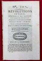 Saint Hilaire Fontaine en 1791 Nièvre Givet Rouen Genève Suisse Champ de Mars