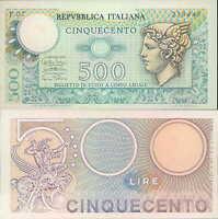 500 LIRE 14/02/1974 Mercurio fds