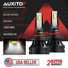2XAUXITO 9005 LED Headlight High Beam Bulb for GMC Sierra 2500 HD 2004 2005 2006